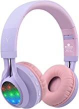 Riwbox WT-7S Bluetooth Headphones Light Up, Foldable Stero Wireless Headset with..