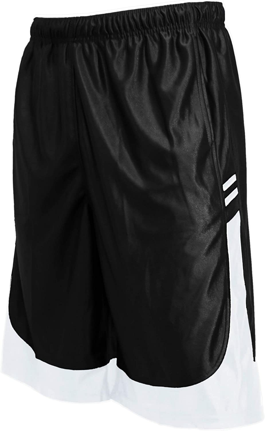 OLLIE ARNES Mens Athletic Gym Workout Shorts with Pockets in Packs or Single, Mesh or Dazzle Athletic Basketball Shorts