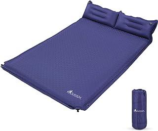 تشک کمپینگ کفگیر خواب دار YOUKADA برای کیسه کوله پشتی تشک خواب Double Sleeping Mat Camping Pad تشک کمپینگ 2 نفره با بالش برای چرخ دنده کمپینگ