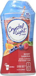 Crystal Light Liquid Drink Mix Berry Sangria 1.62 FZ (Pack of 12)
