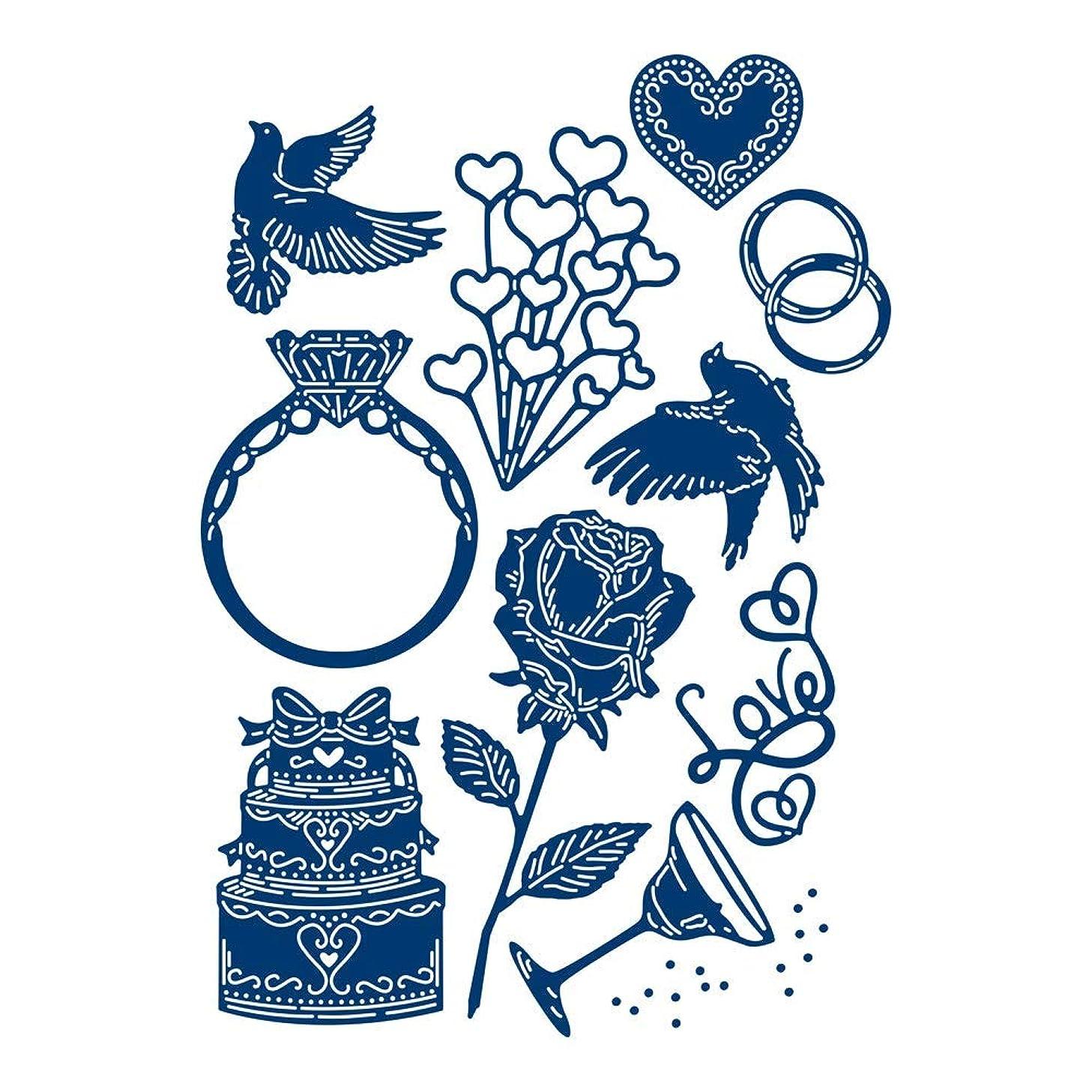 Tattered Lace Romance Die Set