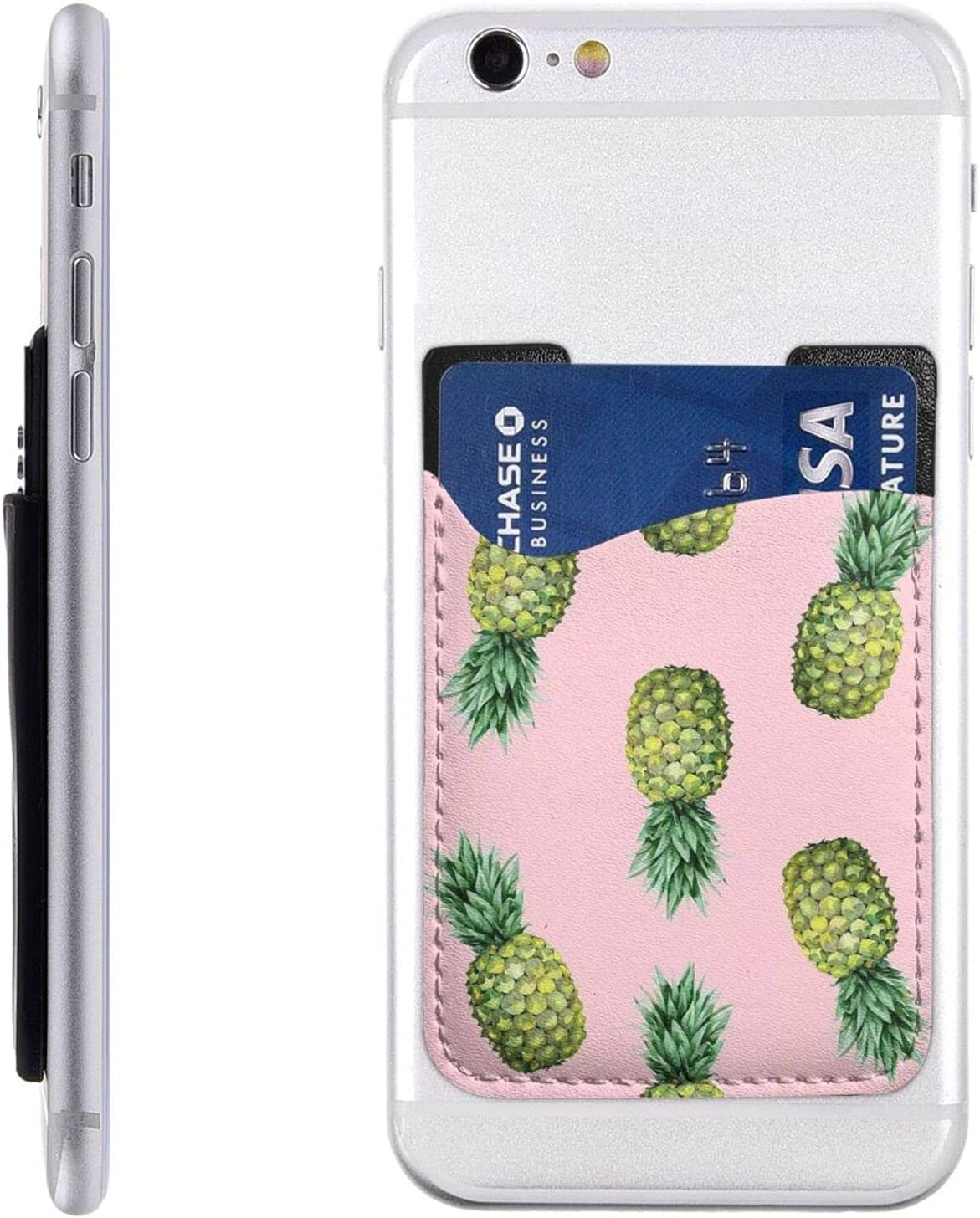 Pineapple Printed Phone Card Manufacturer regenerated product Ranking TOP3 Holder Wal Stick Cell On