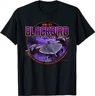 SR-71 Blackbird Strategic Reconnaissance T-Shirt