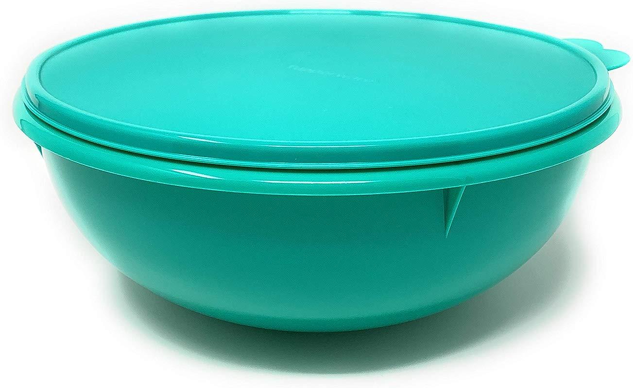 Tupperware Fix N Mix Bowl Toucan Teal Rare