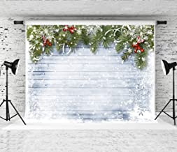 Kate 10x6.5ft Christmas Backdrop Winter Snow Christmas Wood Photo Background Xmas Backdrops