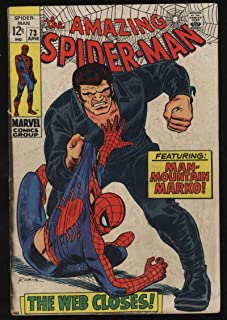Amazing Spider-Man #73 VG- CR/OW Pgs 1st Appearance Silverman