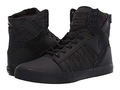 Supra Skytop (Black/Dark Grey/Black) Men