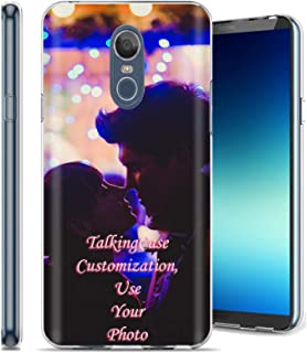 TalkingCase Customization,Personalized Phone Cover for LG Stylo 4,Stylo 4 Plus,Clear Premium Thin Gel Phone Cover,Your Special Moment Here,Designed and Printed in USA