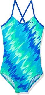 Girls' Big Crossback One Piece Swimsuit