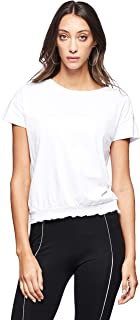 OVS Women's 191TSH095-71 T-SHIRT TIGHTENED AT THE BOTTOM