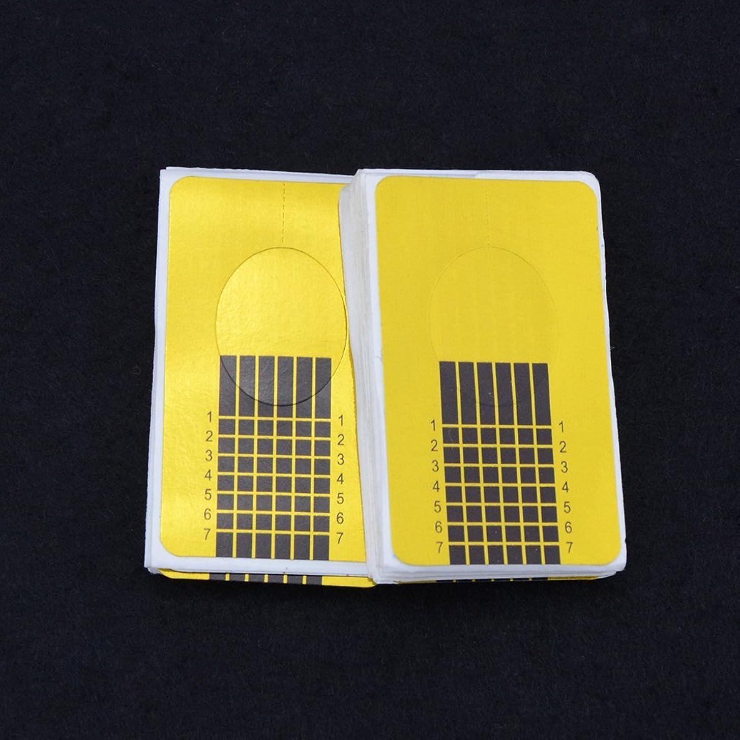 スポンジ記念品水陸両用エリートナインナイン ジェルネイル ネイルフォーム ガイドテープ 長さだし 20枚入り