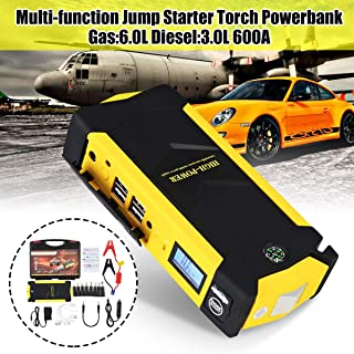 Homeve High Capacity 88000 mAh Car Jump Starter Power Bank 600A Car Battery Charger Booster Charger 4USB 12V SOS Dispositivo Accessori di emergenza