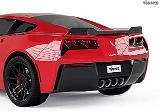 Vicrez Wicker Bill Add-on VR1 vz101405 for Corvette C7 2014-2019