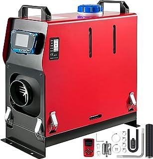 Bisujerro Calentador de Aire Diesel 12V 8KW Calentador de Combustible Calefacción Estacionaria Diesel Calentador Coche Diesel Aire Calentador de Estacionamiento de una Salida de Aire Interruptor LCD