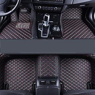 jialaiwo Alfombrillas Coches para Peugeot 206 2019-2021 Alfombrilla Impermeables para Todo Clima Accesorios Interiores Alfombras Beige