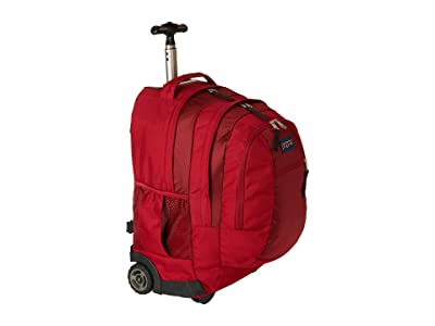 JanSport Driver 8 Wheeled (Viking Red) Backpack Bags