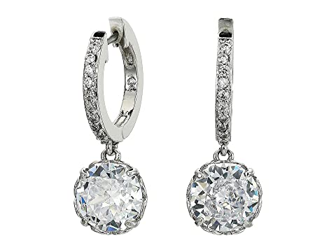 Kate Spade New York That Sparkle Pave Huggies Earrings