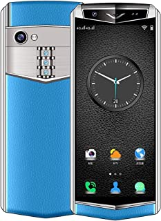 Mobile phone K-TOUCH M17s, 1GB+16GB, Face ID Identification, 3.46 inch Android 6.0 MTK6580 Quad Core, Network: 3G, Dual SIM, Support Google Play (Black) taizhan (Color : Blue)