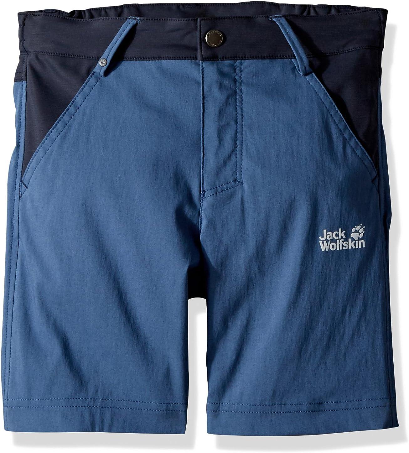 Jack Wolfskin Dillon flex Shorts, 140 (9-10 Years Old), Ocean Wave