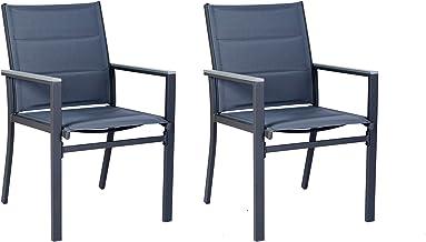Kozyard Villa Outdoor Patio Dining Table Sets (Aluminum Chair)