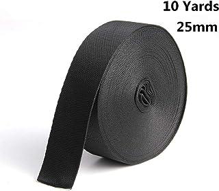 sansheng Polypropylene Webbing,for Lawn Chairs, Hammocks, Towing, Outdoor Climbing and DIY Making Luggage Strap,Backpack R...