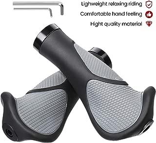 Outerdo VTT 1/paire de poign/ées de guidon /à visser pour v/élo Rot mit Unterlage v/élo de trekking