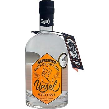 """Premium Taunus Dry Gin""""Ursel"""" Heritage - Harmonischer Gin mit frischen Wald- und Zitrusnoten – London Dry Gin Tradition"""