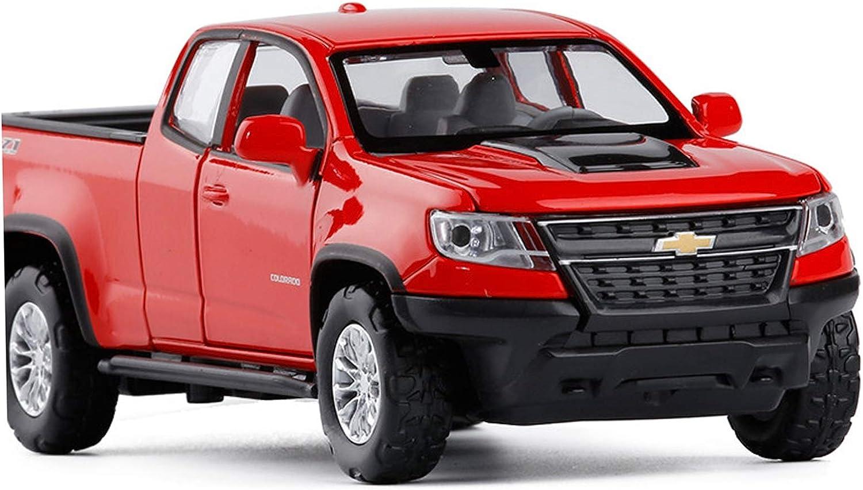 ZHGY Simulation Alloy Car Modle for Colorado Mesa Tulsa Mall Mall Picku ZR2 Chevrolet