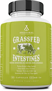 Ancestral Supplements Intestines with Stomach (Tripe) � Supports Gut & Digestive Health (180 Capsules)