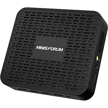 Mini PC Windows 10 Pro 8GB LPDDR4 128GB SSD Intel Celeron Processor J4125 Quad Core(up to 2.7GHz),4X USB 3.0 Ports,2X Gigabit Ethernet,Digital Mic,4K HDMI 2.0/DP Port,Dual Band Wi-Fi,BT 4.2