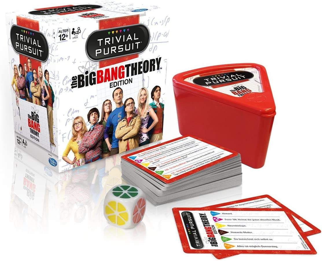 Trivial Pursuit Harry Potter The Big Bang Theory