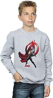 Marvel Jungen Thor Pose Sweatshirt