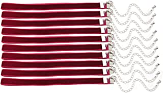 20pcs 3/8'' Wine Red Velvet Chokers Vintage Necklace for Women With Extension (XL-1013)