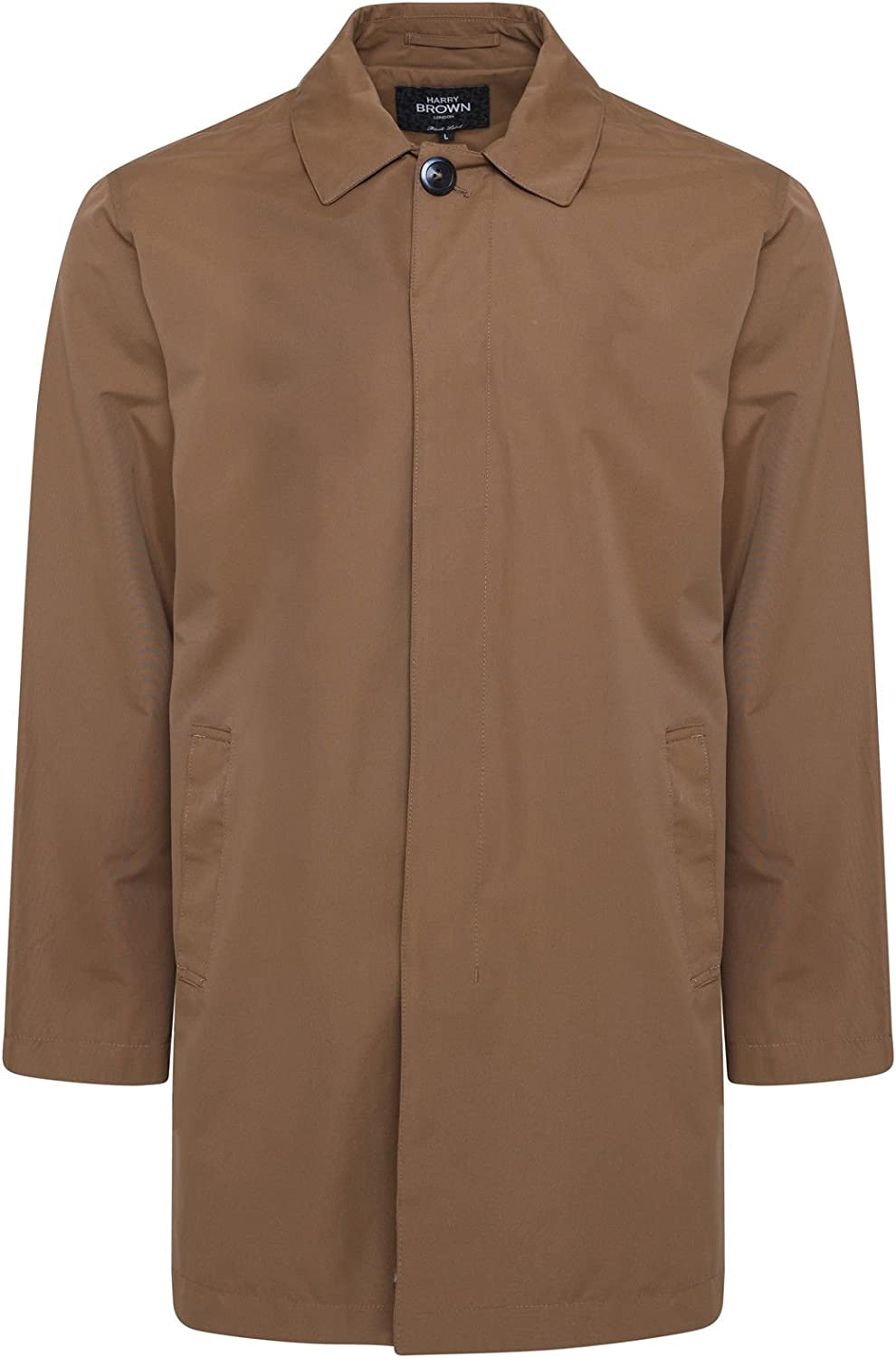 HARRY BROWN Trench Breasted Challenge the lowest price of Japan ☆ Single Free Shipping New Coat