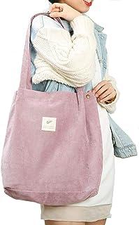 Cloele Damen Umhängetasche für Frauen Mädchen, Wiederverwendbare Handtasche mit Innentasche, Damen-Schultertaschen für Arb...