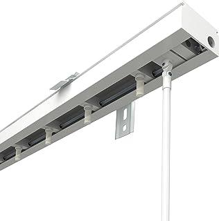 Victoria M. Rieles para Cortina de Lamas Verticales, para 8,9cm Lamas | 200cm Longitud, Blanco