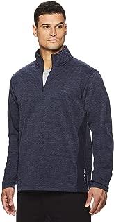 HEAD Men's 1/4 Zip Up Activewear Pullover Jacket - Long Sleeve Running & Workout Sweater