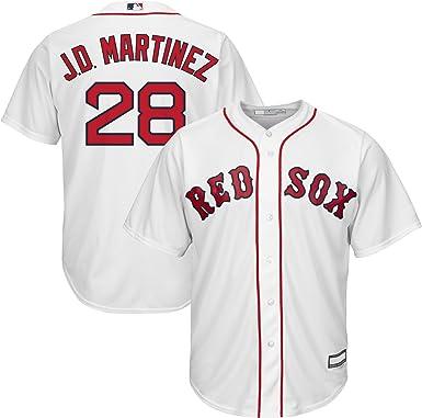 JD Martinez Boston Red Sox MLB Boys Youth 8-20 Player Jersey