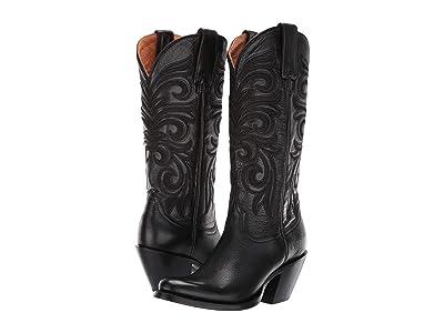 Lucchese Laurelie (Black) Cowboy Boots