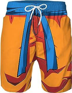 Niño Pantalones Cortos de Natación Deportiva Secado Rápido Pantalones Cortos de Playa Colorido Pantalones Cortos con Forro de Malla