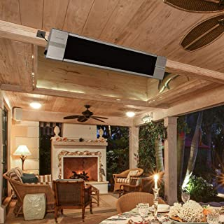 ART TO REAL Infrared Wall-Mounted Electric Heater with Remote Control Indoor Outdoor Patio & Amazon.com: Wall Mountable Outdoor Heaters