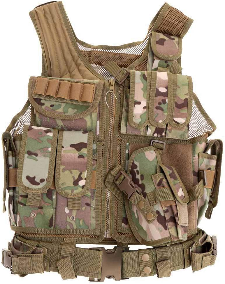 Johnson Alon Actical Vest Breathable Seattle Mall specialty shop Ultra-Light Combat Outdoor