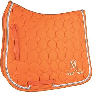 Mark Todd Matrix Quilted Saddle Pad Full Size Orange