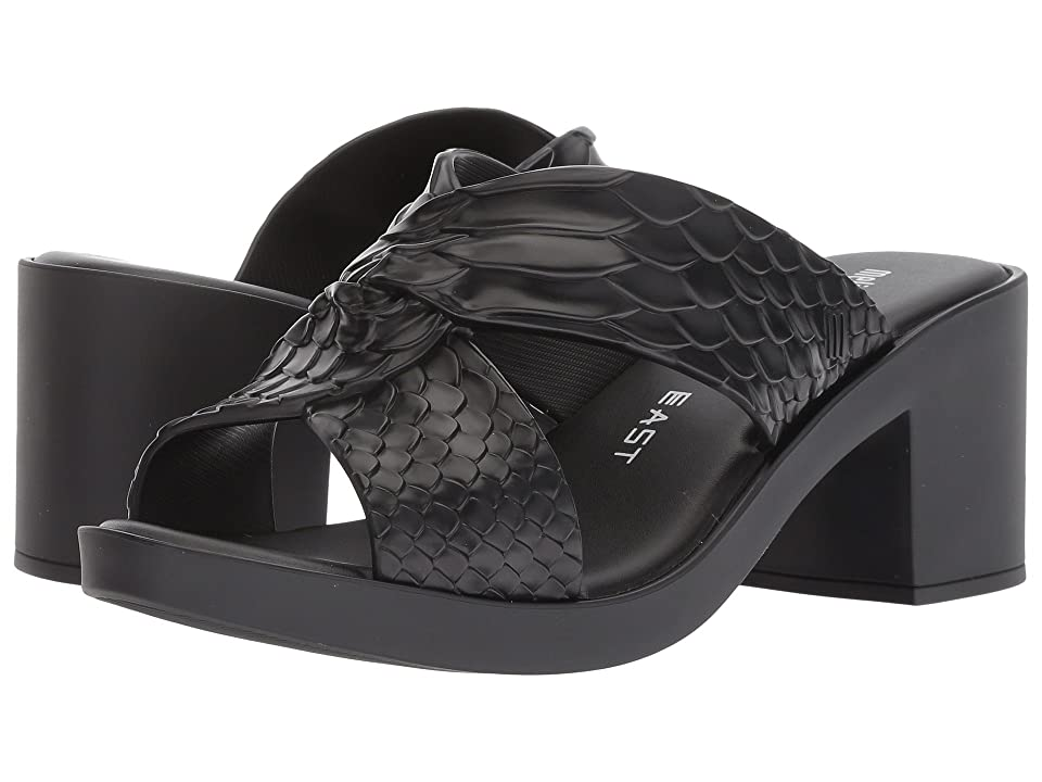 Melissa Shoes x Baja East Python Heel (Black) Women