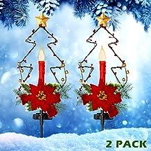 Amazon Com Solar Led Christmas Decorations