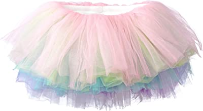 My Lello Little Girls 10-Layer Short Ballet Tulle Tutu Skirt (4 mo. - 3T)