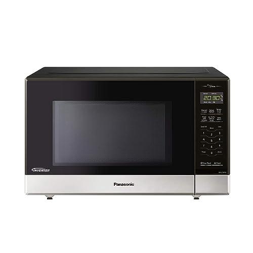 White Large Panasonic NNST27HW Genius Prestige Plus OTR Microwave Oven
