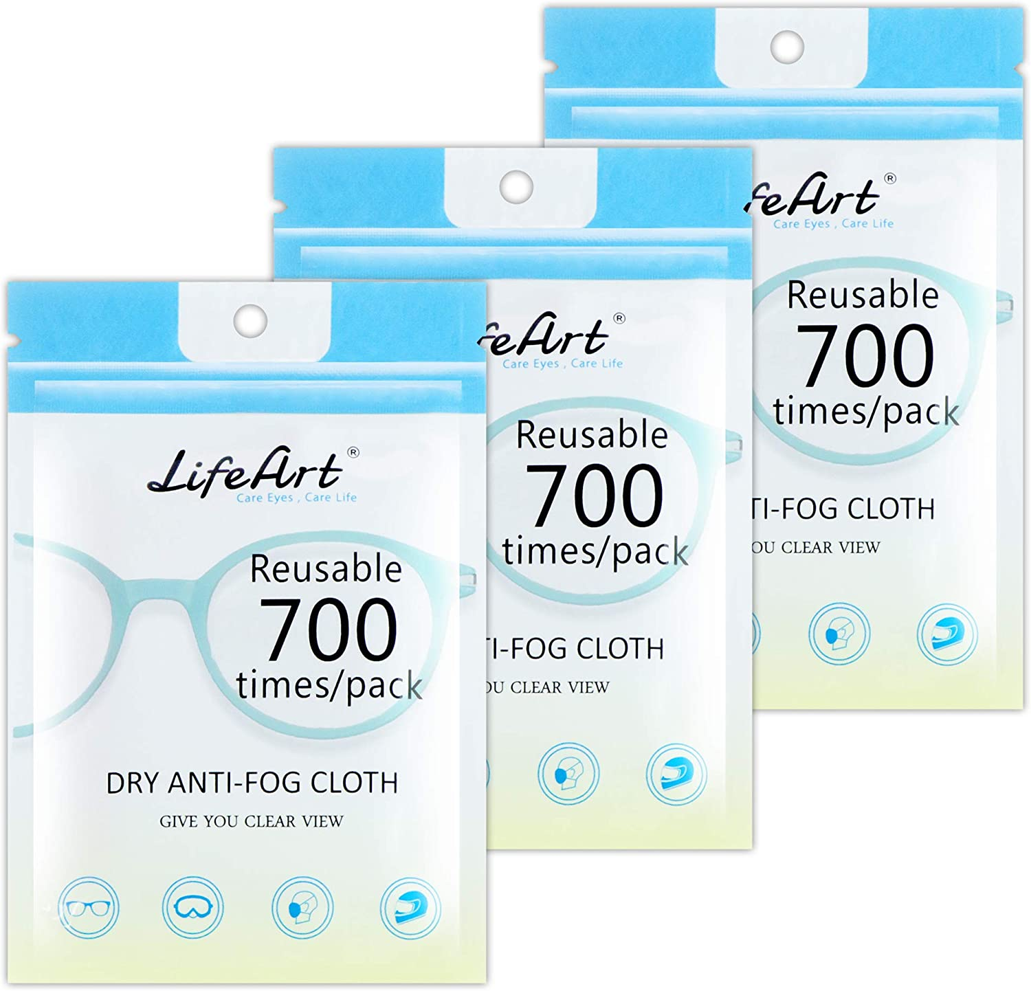LifeArt Anti Fog Cloth Cleaning Rapid rise Eyeglasses 25% OFF Microfiber for