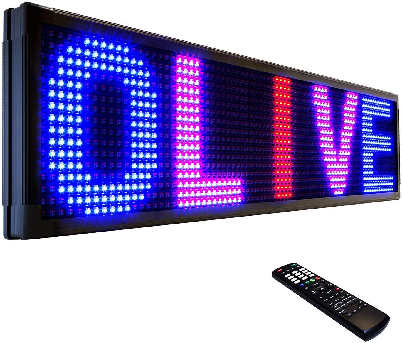 OLIVE LED Sign Shipping included Inexpensive 3Color RBP 12