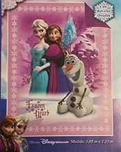 Disney Frozen 2014 Elsa Anna Olaf Baby Plush Soft Sherpa Blanket 41